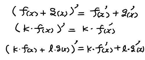 導関数の定理